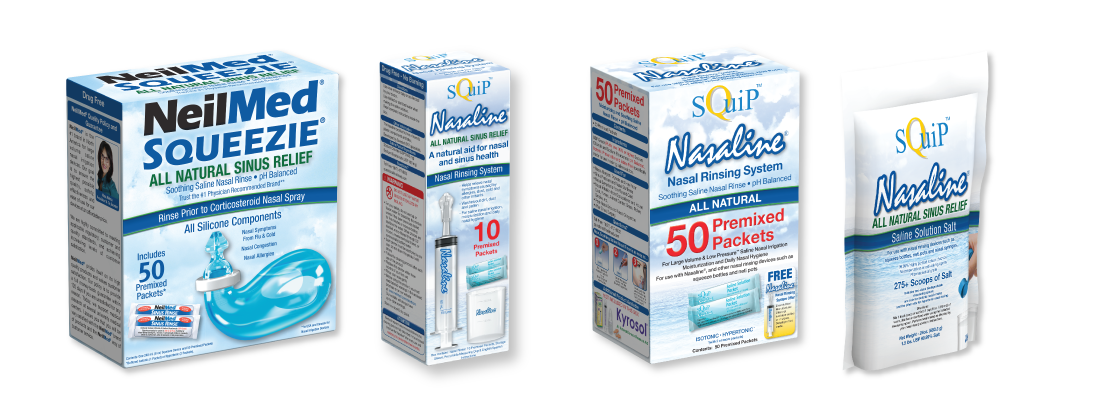 Squip Adult Nasal Irrigation Products